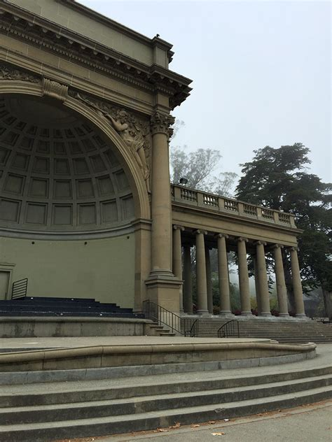 temple of the songs spreckels temple of in the golden gate park concourse