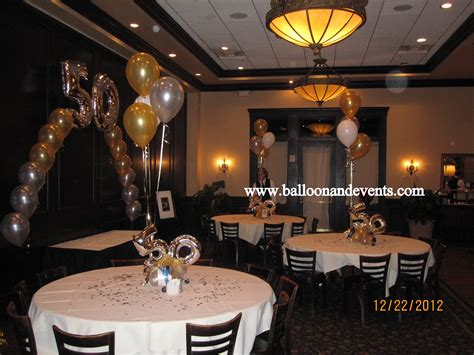 50th birthday party centerpieces for tables room decor for 50th birthday party pinteres