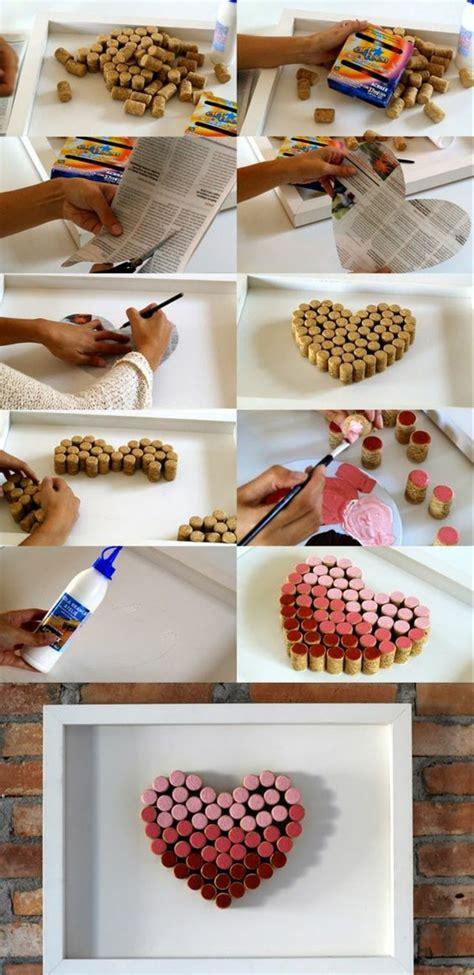 Wanddeko Ideen Mit Farbe by 1001 Ideen Zum Thema Basteln Mit Weinkorken