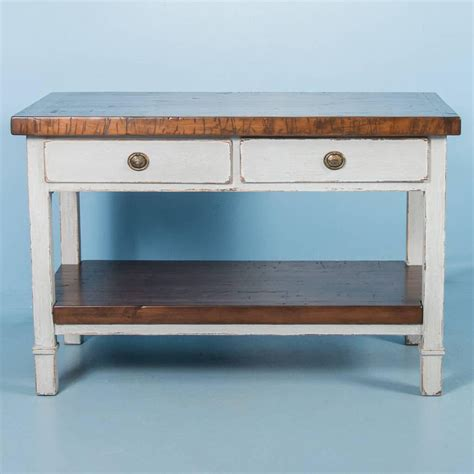 kitchen island tops for sale vintage kitchen island with reclaimed butcher block top