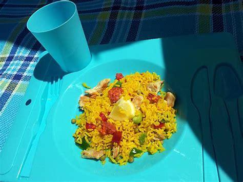 espagnol enfant mon papa recette de salade pique nique de riz 224 l espagnole de mon papa