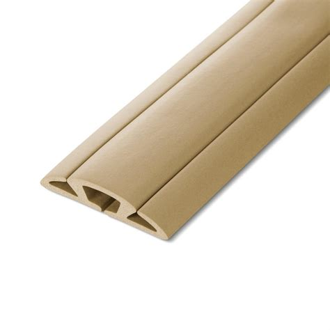ut wire 5 ft cord protector with 3 channels beige utw