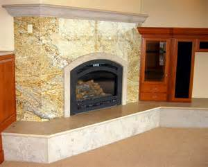 granite fireplace hearth limestone marble fireplaces center portland or