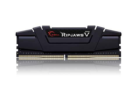 Memory V g skill announces 128gb ddr4 3200 ripjaws v high performance memory kit