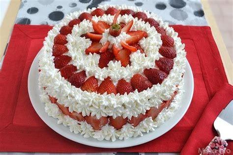 bagna per torte alla fragola 187 torta alle fragole ricetta torta alle fragole di misya