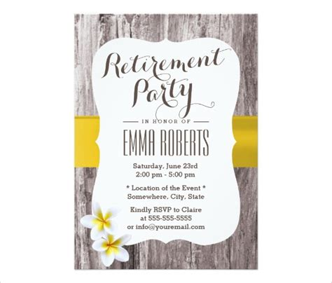 Create Own Retirement Party Invitations Printable Natalies Invitations Retirement Invitation Template