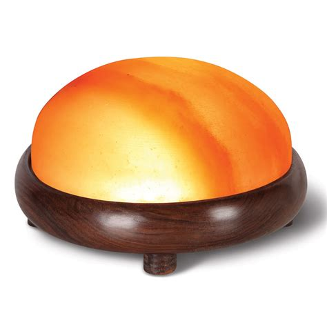Himalayan Salt Detox Dome by The Himalayan Salt Therapy Dome Hammacher Schlemmer