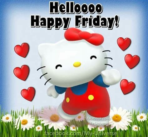 Hello Happy hello happy friday wishes greeting picture card