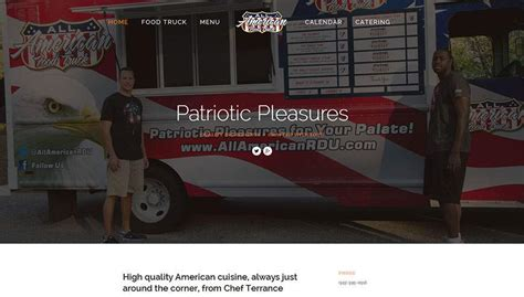 food truck website design food trucks in raleigh web design gallery wordpress web