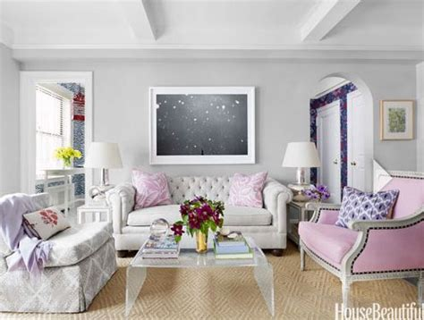 girly living room girly living room pink chair tufted sofa lucite coffee table abstract gray walls great