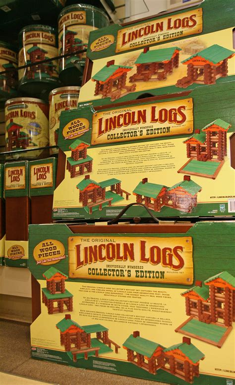 the lincoln log the birth of lincoln logs history in the headlines