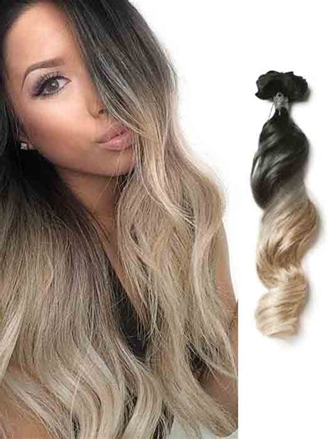 black to brown ombre hair extensions black to wave ombre hair extension