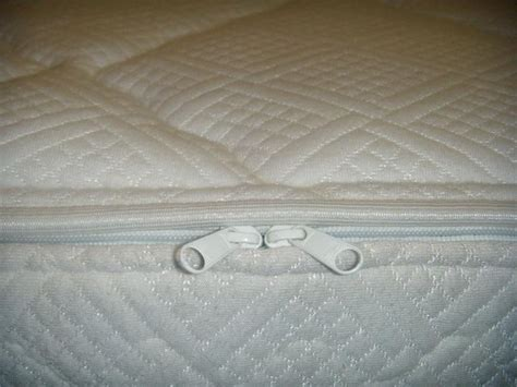 hard side waterbed mattress quilted cotton zipper cover
