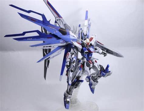 Water Decal Mg Strike Freedom Momoko gundam 1 100 freedom gundam blue customized build kidou senshi gunpla