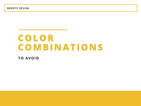 ugliest color combinations the ugliest website color output 9 color combinаtions to