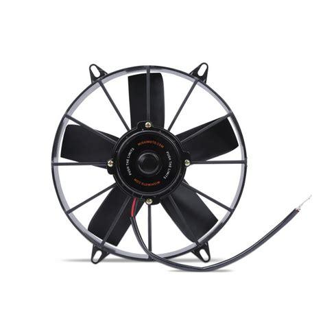 high flow radiator fan universal fit 12 inch race line high flow fan
