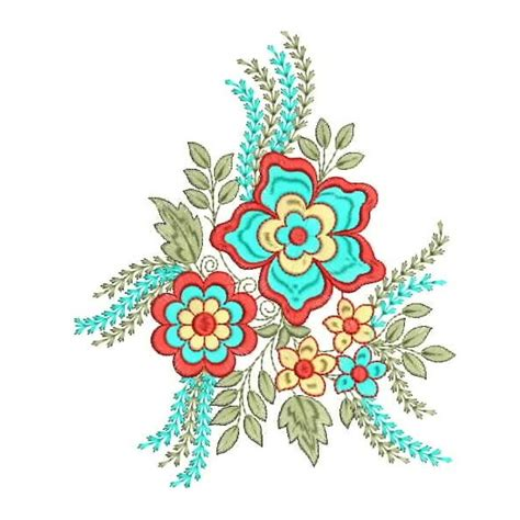 creative design and embroidery new creative flower embroidery designs 2