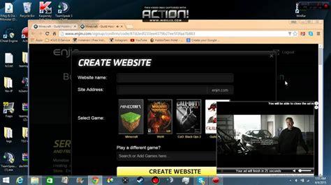website tutorial youtube enjin website tutorial youtube