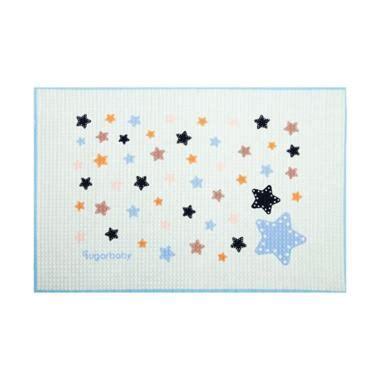 Perlak Sugar Baby Organic Healthy Cot Sheet Perlak Bayi Green Fox jual sugar baby blue organic healthy cot sheet perlak