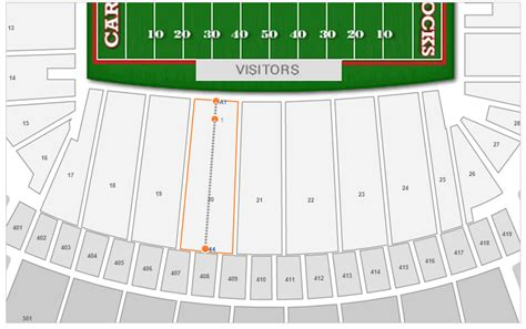 williams brice seating chart south carolina football williams brice stadium seating