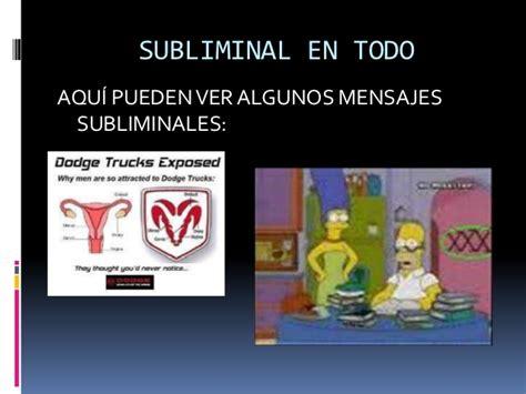 mensajes a subliminales mensajes subliminales