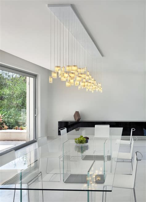 Orchids Chandelier By Galilee Lighting Contemporary Contemporary Dining Room Pendant Lighting