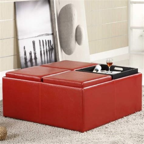 large storage ottoman with tray cabernet extra large storage ottoman with serving trays