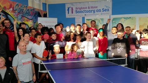brighton and hove news 187 brighton table tennis club takes