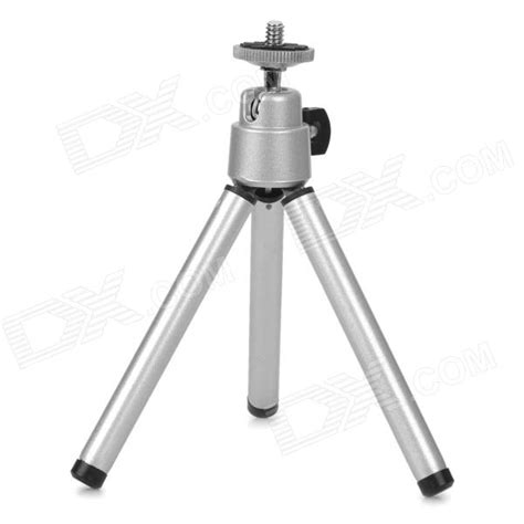 Tripod Mini Holder U Silver Gratis Paket Hadiah mini 7 inch metallic tripod silver free shipping dealextreme