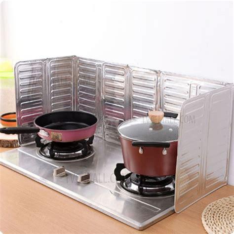 Kitchen Stove Insulation 2pcs kitchen aluminium foil plate gas stove foldable
