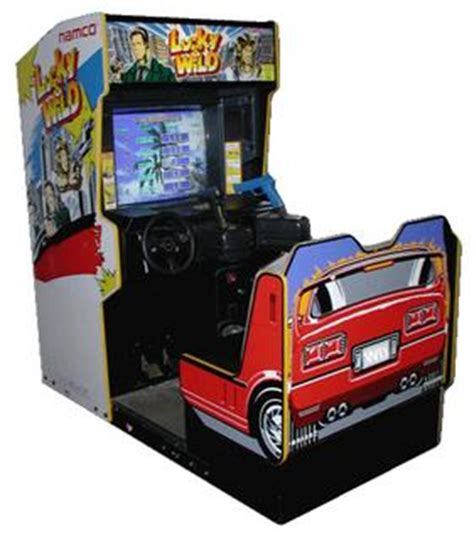 lucky & wild videogame by namco