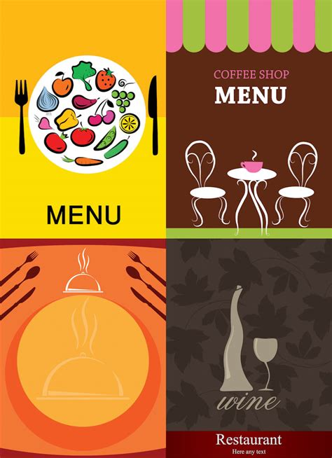 design menu cafe vector menu free stock vector art illustrations eps ai svg