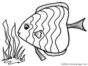 Coloring pictures fish printable coloring pages