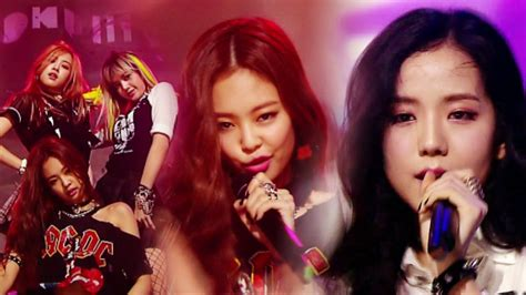 blackpink debut stage debut stage blackpink 블랙핑크 boombayah 붐바야 인기가요