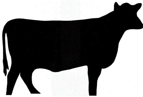 steer clipart show steer silhouette clipart