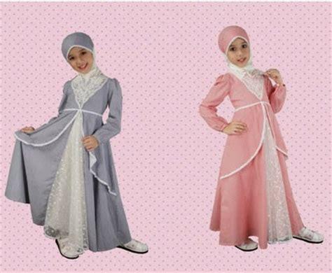 Busana Muslim Anak Perempuan Modern Model Baju Muslim Modern Terbaru Untuk Putri Anda