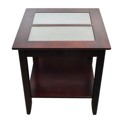 Target Glass Coffee Table 53 Klaussner Klaussner Black Nightstand Set Tables