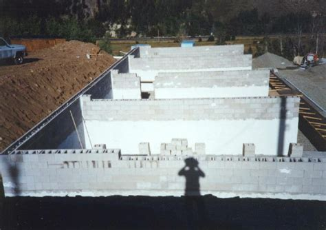 dry stack block surface bonded concrete block walls