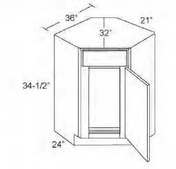 Standard Kitchen Corner Cabinet Sizes Kitchen Corner Base Cabinet Dimensions