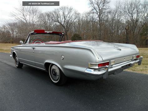 plymouth valiant 1963 1963 plymouth valiant signet convertible from