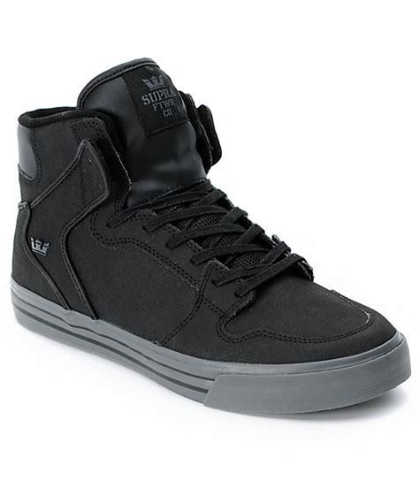 supra vaider tuf black gunny shoes