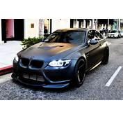 BMW M3 // Matte Paint  MuchoCarscom