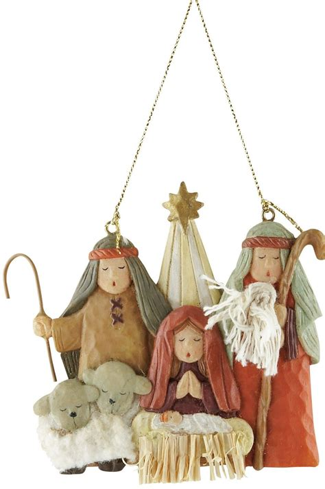 christmas story tree ornaments quot add this nativity ornament to your tree for a and cuddly celebration of the