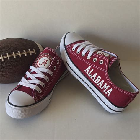 alabama crimson tide sneakers alabama crimson tide converse style shoes http