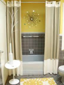 yellow and grey bathroom ideas 43 bright and colorful bathroom design ideas digsdigs