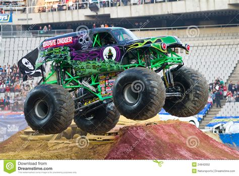 monster truck grave digger video grave digger monster truck editorial photography image of