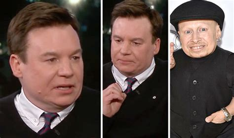 mike myers ray foster verne troyer death mike myers gets tearful as he recalls