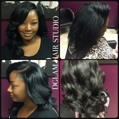 stylist who specializes in gentle body wave for fine hair in dallas tx area full sewin weave body curls body waves long hair