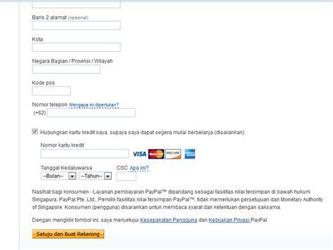 bagaimana membuat paypal tanpa kartu kredit membuat akun paypal tanpa kartu kredit blog abang muhzain