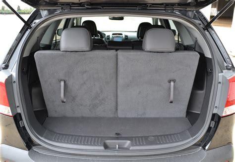 Kia Sorento How Many Seats 2011 Kia Sorento Ex V6 Awd Review Test Drive